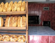 Uzumlu Bread Oven and fresh hot bread