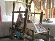 Uzumlu local woman weaving