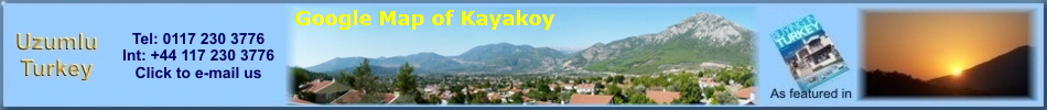 Google Map of Kayakoy